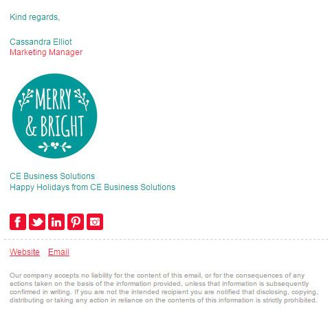 17 Best ideas about Email Signature Templates on Pinterest | Email ...