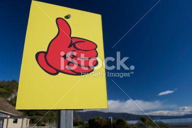 Hitching Signpost Royalty Free Stock Photo