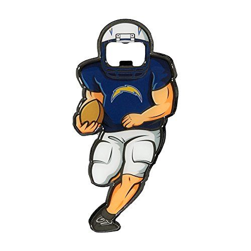 NFL San Diego Chargers Player Bottle Opener Magnet >>> Click image for more details.