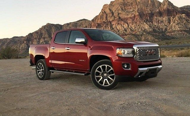 2019 Gmc Canyon Keeps The Look Gets More Features Gmc Canyon Canyon Diesel Gmc Denali Truck