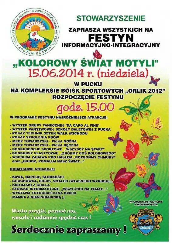 Stowarzyszenie Zrozumieć Świat zaprasza w najbliższą niedzielę na #festyn rodzinny do Pucka. Nasza młodzież zaprezentuje swoje talenty, a przy okazji będzie domowa #grochówka, #bigos i #smalec. Nie może Was zabraknąć! :)