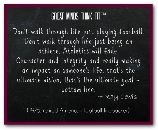 Inspiring Football Quotes Ray Lewis: Famous #Football #Quote By Ray Lewis