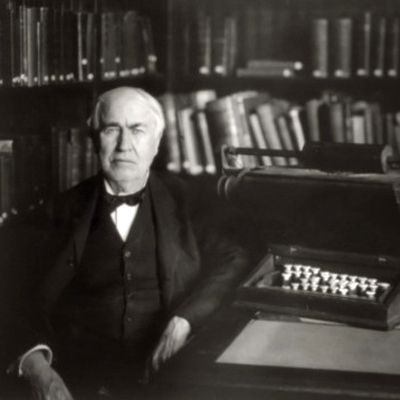 Thomas Edison only slept 4-5 hours a night...calling Sleep a Waste of Time!