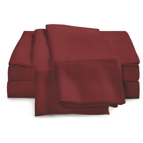 eLuxury 800 Thread Count Egyptian Cotton Sheet Set ($115) ❤ liked on Polyvore featuring home, bed & bath, bedding, bed sheets, cal king sheet set, king size sheet sets, queen sheet sets, california king flat sheet and king sheet set