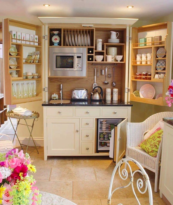 This Is Not In The Atlanta Guest House But A Great Idea For A Similar Small  Space. Perfect Little Kitchen.for A Guest House Or Better Yet An In Laws  Sweet, ...