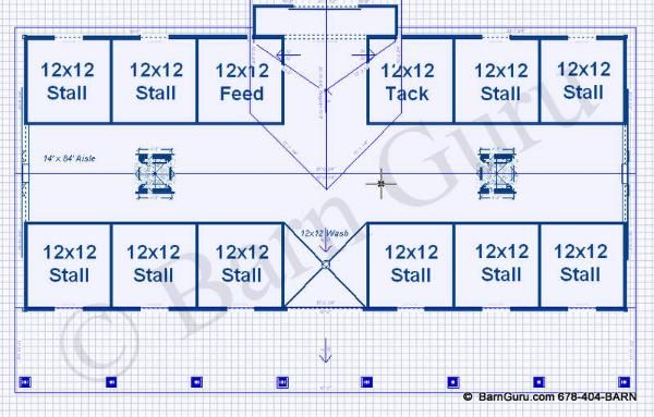 Best 25 horse farm layout ideas on pinterest horse for 6 stall horse barn plans