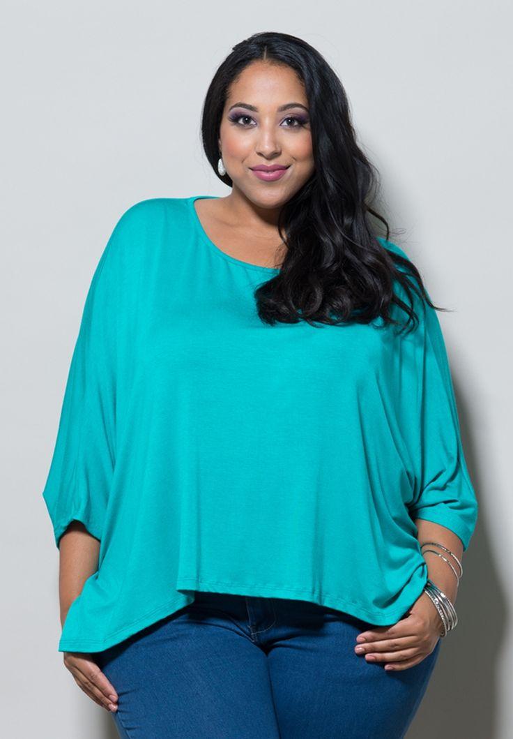 Plus Size Tops | Christina Dolman Top (Classic) | Swakdesigns.com