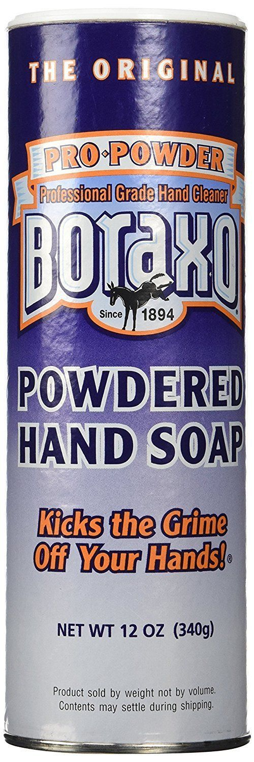 Other Bath and Body Supplies: 12 Pack Boraxo Borax 12 Oz Powdered Hand Cleaner Soap 10908 BUY IT NOW ONLY: $34.99