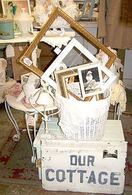 Olivia's Romantic Home: Cadwells Flea Market Booth