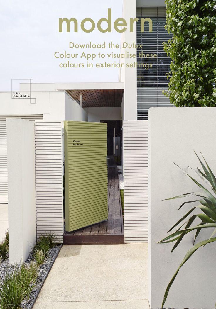 The 25 best dulux exterior paint colours ideas on - Colorbond exterior colour schemes ...