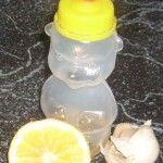 méz, fokhagyma, citrom, immunerősítő házilag