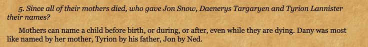 How George R.R. Martin Revealed Jon Snow's Parents in 2002, But No One Caught It