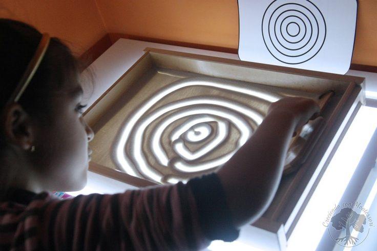 Grafomotricidad en la Mesa de Luz – Tarjetas Imprimibles –