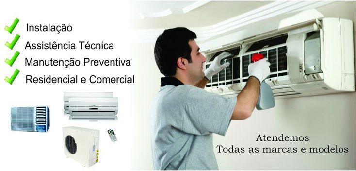 Ar Condicionado  - Instalação, Manutenção e Limpeza Ar Condicionado Split