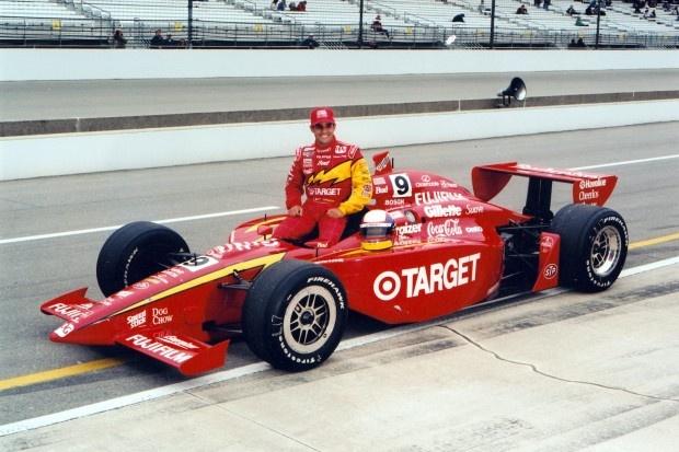 Colombian Juan Pablo Montoya, 2000 Indy 500 Champion.