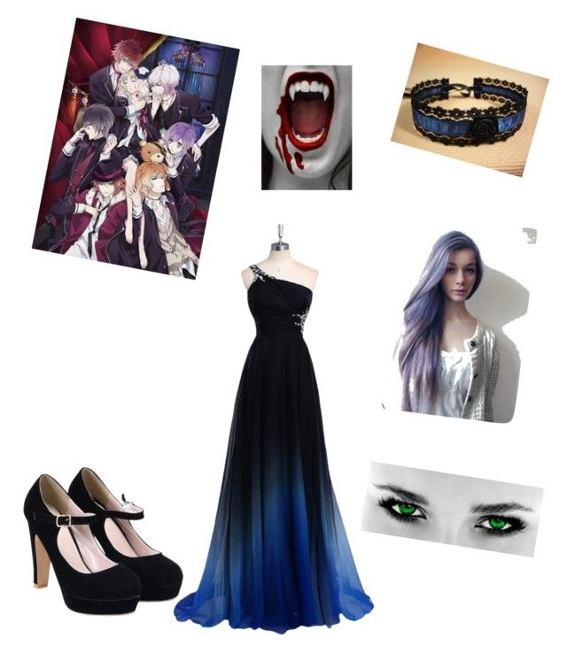 """""""diabolik lovers sister"""" by hediecute ❤ liked on Polyvore"""