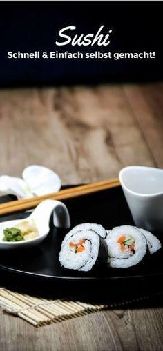 #Sushi #Sushi selbst gemacht #sushiselbstgemacht #homemadesushi #Asia #Asien #lecker #reis #einfach #schnell #Rice