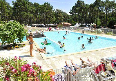 Location Biscarrosse Plage Odalys, promo location Camping Domaine Résidentiel de Plein Air Le Vivier prix promo Odalys Vacances à partir de ...