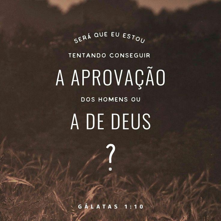 Quero ser aprovada por Deus