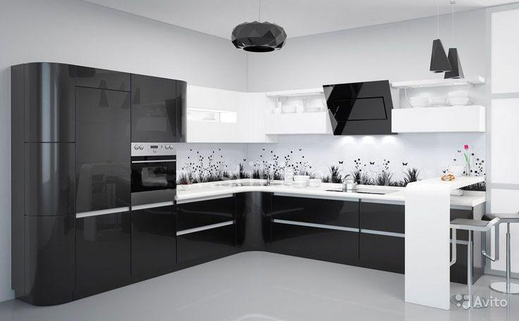 черно-белая кухня: 18 тыс изображений найдено в Яндекс.Картинках