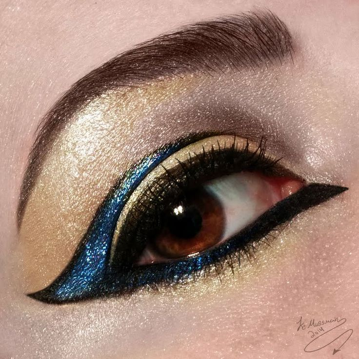 The Golden Lagoon by Kc M. Click the pic to see the products she used. #eyemakeup #YouCanDoThisBeauty