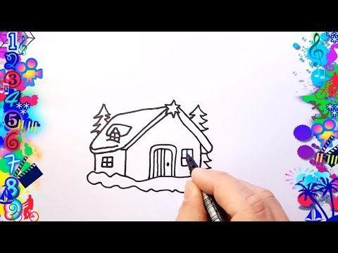 Como Dibujar Casa Para Ninos Dibujos Faciles Dibujo Facil