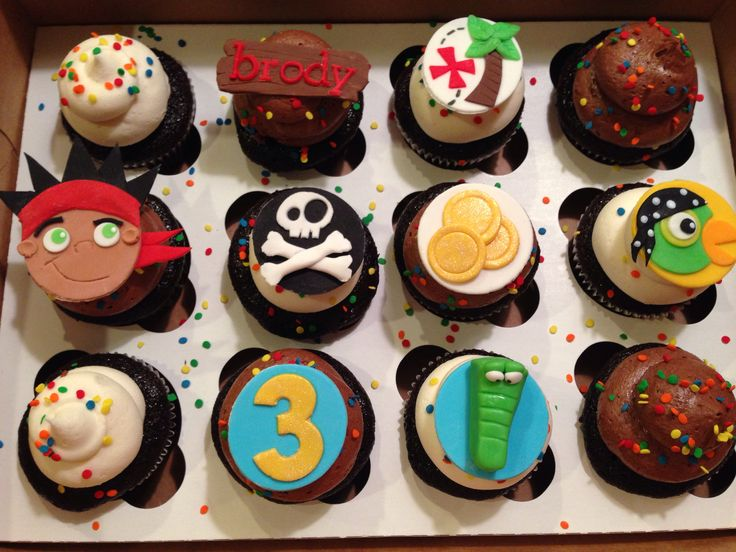 jake and the neverland pirates cupcakes - photo #5
