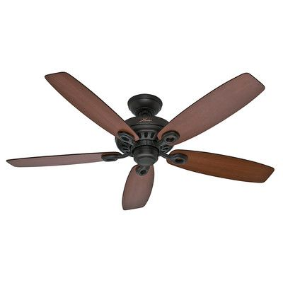 "Hunter Fans 52"" Markham 5 Blade Ceiling Fan & Reviews 