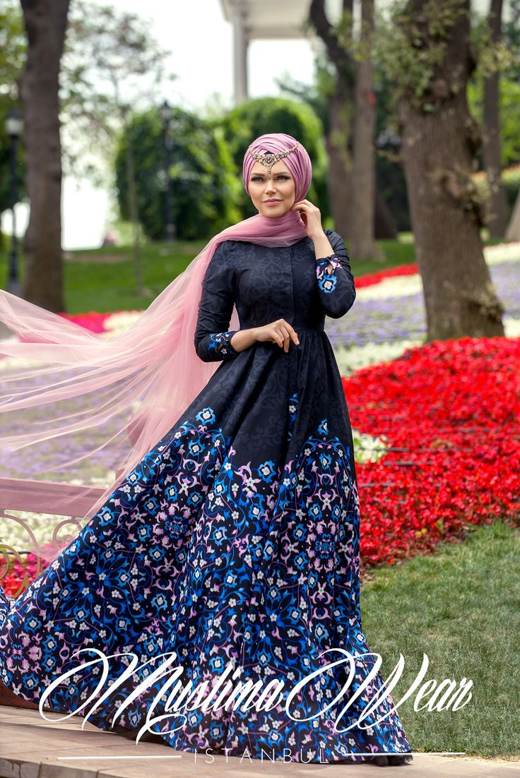 Muslima Wear 2016 - Night Flower Black Dress