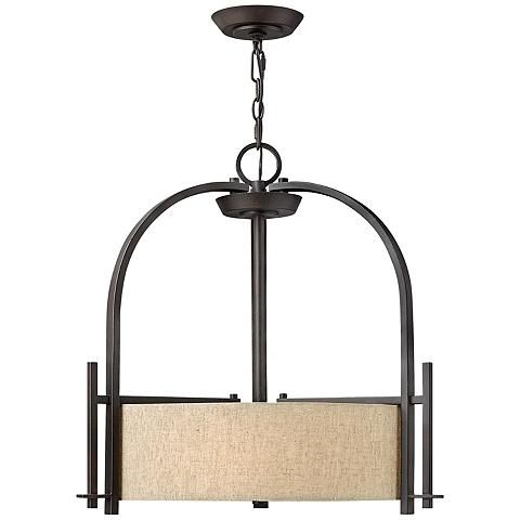 "Hinkley Sloan Collection 24"" Wide Bronze Pendant Light - #V3919 