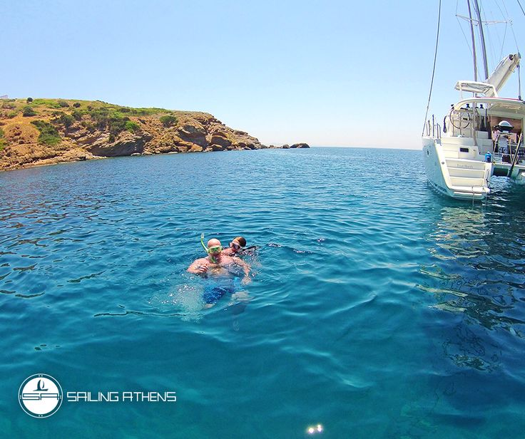 Feeling the heat in #Athens? Get aboard and explore the crystal clear waters @ Athens Riviera!