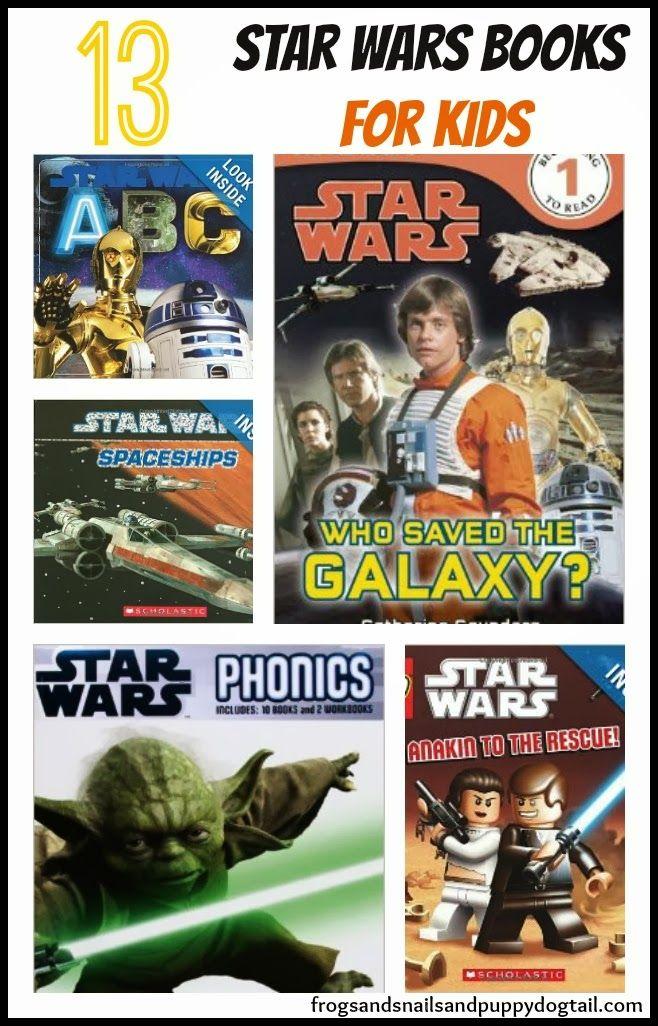 Star Wars Books for Kids ~ Book List by FSPDT
