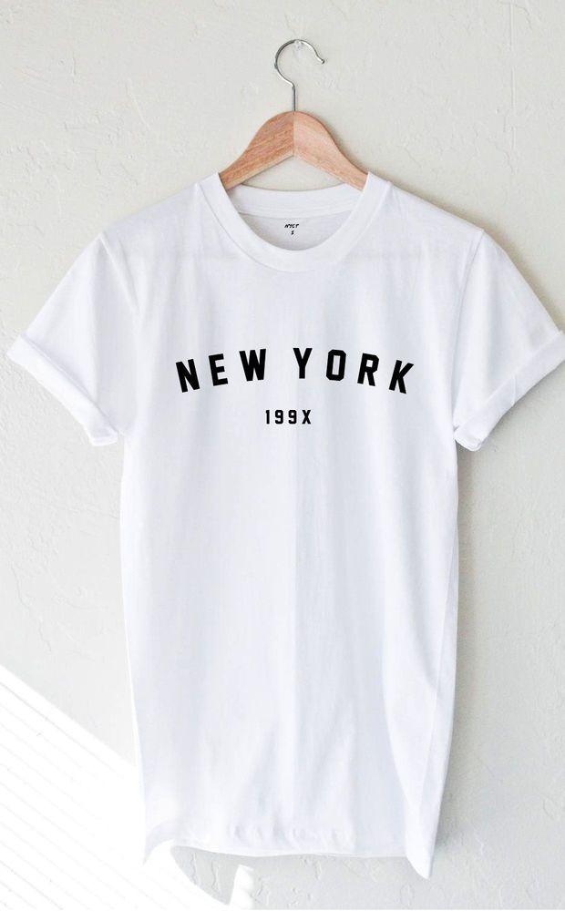 New York 199x T-shirt - White