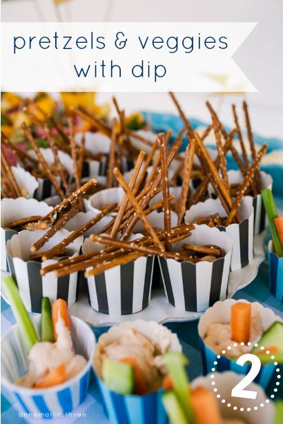 9 Fun And Healthy Party Food Ideas