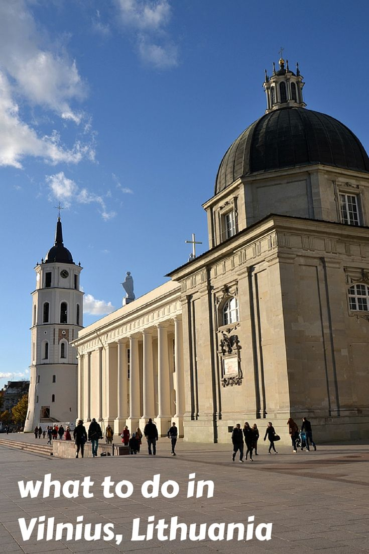 A mini guide to things to do in Vilnius, Lithuania - one of the most underrated capitals in Europe!  #lithuania #vilnius #guide #travel