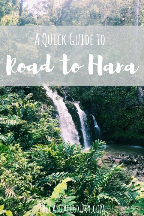 A Quick Guide to the Road to Hana // What to do in Maui // Maui Tips //
