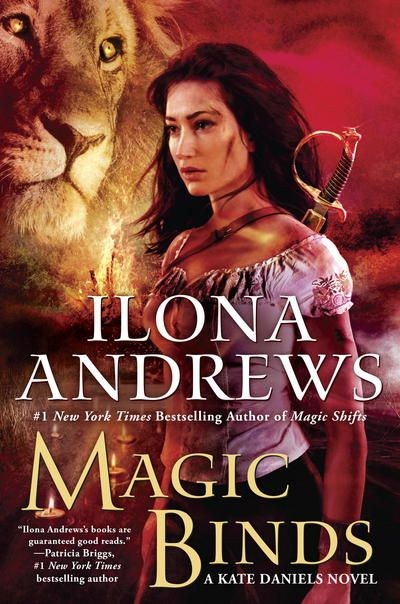 Magic Binds (Kate Daniels ) by Ilona Andrews at The Reading Cafe: http://www.thereadingcafe.com/magic-binds-by-ilona-andrews-review-giveaway/