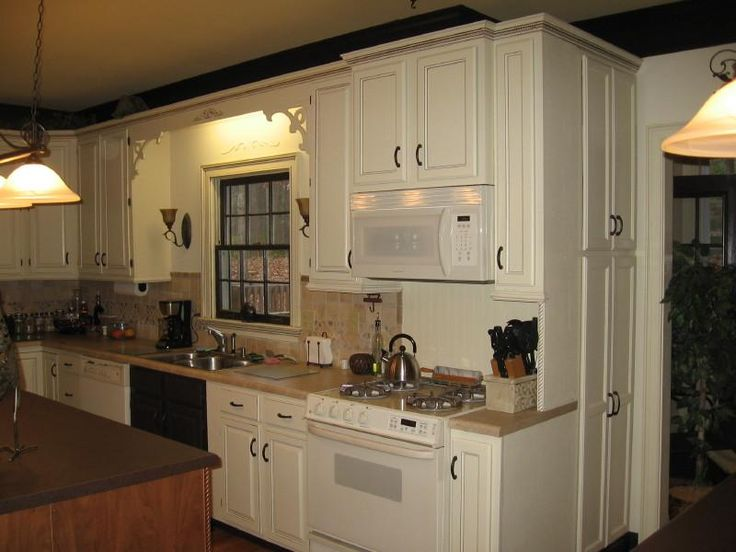 Brown Painted Kitchen Cabinets 89 best painting kitchen cabinets images on pinterest | kitchen