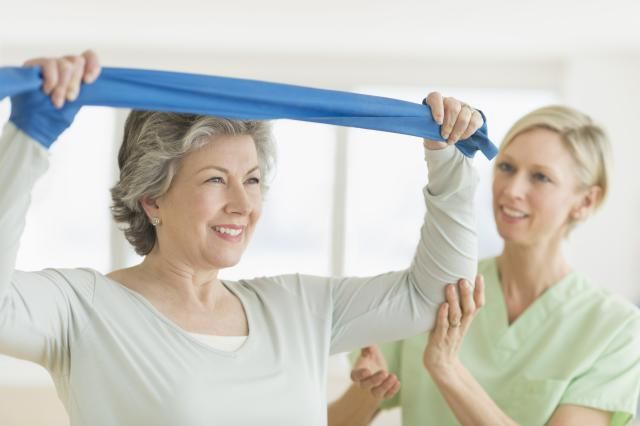 Exercises to Rehab From a Shoulder Injury or Surgery