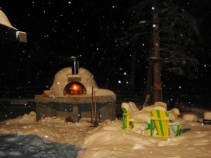 Pizza oven warm up time