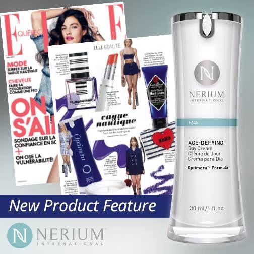 Nerium fait du bruit et toi, tu peux l'essayer  et avoir de beaux résultats.  www.powerbeauty.ca