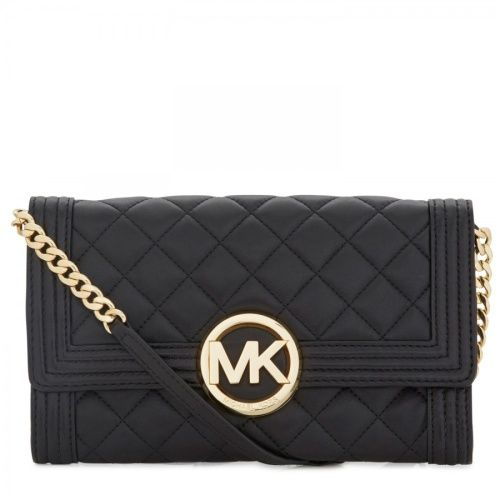 #bag #gold #black @Michael Dussert Kors