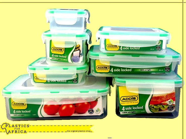 #WellnessWednesday: Safely storing dinner leftovers in an airtight container will increase the shelf life of the food. At #PlasticsforAfrica, we stock a range of containers, which are ideal for food storage