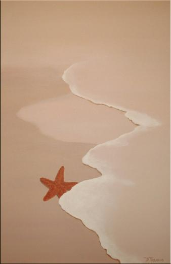 Starfish - Oil Painting Reproduction On Canvas