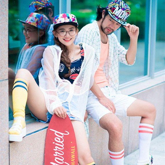 투어 패키지 장난 운동 힙합 스타일의 드레스 사진을 촬영 거리 촬영 2017 애호가 테마 사진 의류 스튜디오