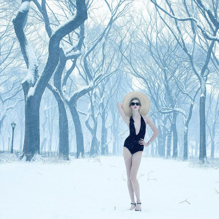Winter Glam Photographed by Annie Leibovitz, Vogue, August 2010