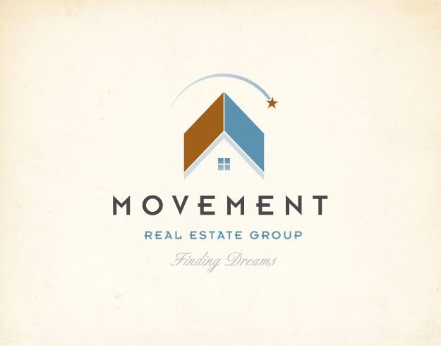 Real estate logos can be really boring... but I love the colors and sense of... need I say... MOVEMENT... this logo implies. Sweet job!