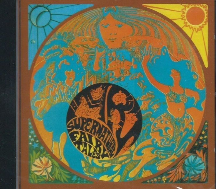 ART - SUPERNATURAL FAIRY TALES pre SPOOKY TOOTH UK PSYCH ARIEL BENDER GTR SLD CD #60sUKPsych