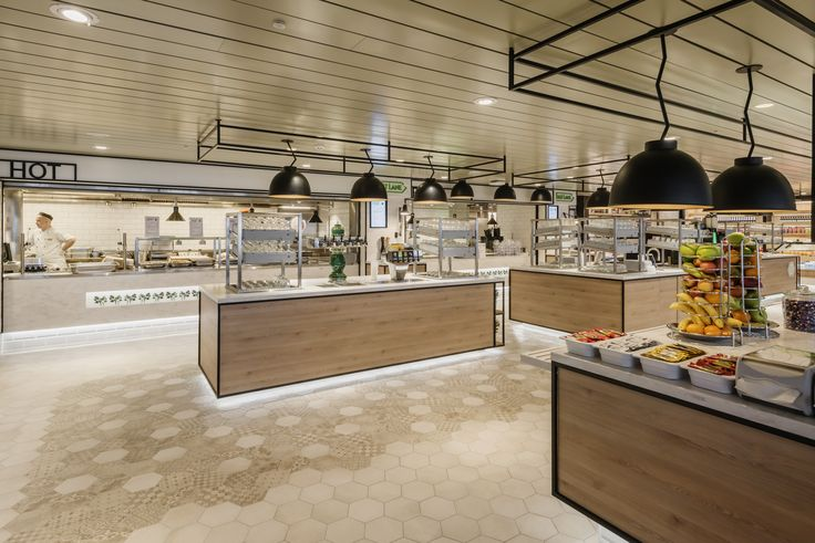 Restaurant & buffet design at Tallink Megastar ferry