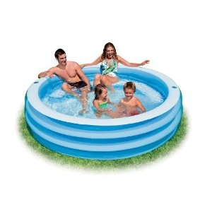 288 best images about jaiden 39 s birthday on pinterest - Intex swim center family lounge pool blue ...